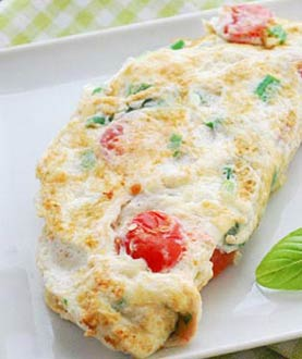 Breakfast Healthy Eggs White Omelets
